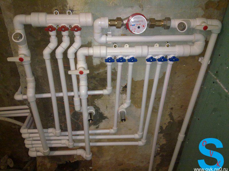 Водопровод из полипропилена своими руками фото